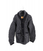 SOPHNET.×CANADIAN SWEATER(ソフネット カナディアンセーター)の古着「ショールカラーカーディガン」|グレー