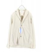INTERMEZZO(インターメッツォ)の古着「ストレッチテーラードジャケット」|ベージュ