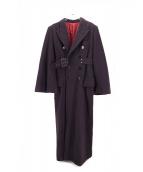 Jean Paul GAULTIER(ジャンポールゴルチェ)の古着「ロングコート」|パープル