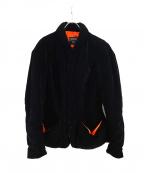 Jean Paul Gaultier FEMME(ジャンポールゴルチェ フェム)の古着「ベロアジャケット」|ブラック