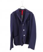 HARRIS WHARF LONDON(ハリスワーフロンドン)の古着「コットンテーラードジャケット」|ネイビー