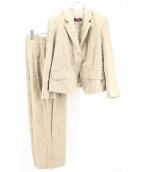 KENZO(ケンゾー)の古着「ヴィンテージセットアップ」|ベージュ