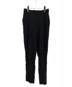 ENFOLD(エンフォルド)の古着「タックパンツ」|ブラック
