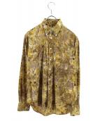 NEPENTHES(ネペンテス)の古着「総柄シャツ」 ブラウン