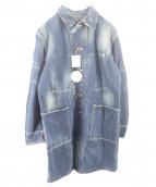 GARDENER(ガーデナー)の古着「デニムカバーオール」|インディゴ