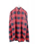 DIOR HOMME(ディオールオム)の古着「ブロックチェックシャツ」