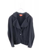 V.W. RED LABEL(ヴィヴィアンウエストウッドレッドレーベル)の古着「スウェットラブジャケット」|ブラック