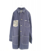 SOPHNET.×LEE(ソフ×リー)の古着「SHOP WORK COAT」 インディゴ