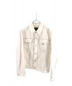 CABaN(キャバン)の古着「コットンギャバジン オーバーサイズブルゾン」|ホワイト