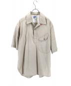 Engineered Garments(エンジニアードガーメンツ)の古着「プルオーバーシャツ」 ベージュ