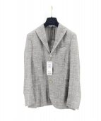 BOGLIOLI(ボリオリ)の古着「BOMMジャケット」|ベージュ