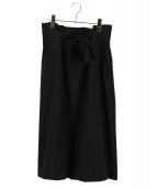 ELENDEEK(エレンディーク)の古着「イージーラインスカート」|ブラック