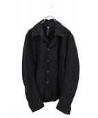 wjk(ダブルジェイケイ)の古着「フックシャツジャケット」|ブラック