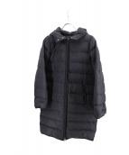Plage(プラージュ)の古着「フーデットダウンコート」|ブラック