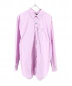 martine rose(マーティン・ローズ)の古着「オーバーサイズシャツ」|ラベンダー