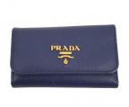 PRADA()の古着「キーケース」|ネイビー