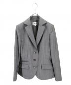 49AV junko shimada(ジュンコシマダ)の古着「サマーウールモヘアジャケット」|グレー