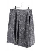 YANTOR(ヤントル)の古着「巻きスカート」|グレー