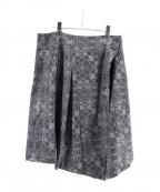 YANTOR(ヤントル)の古着「巻きスカート」 グレー