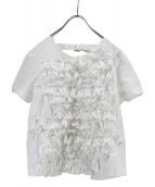 COMME des GARCONS(コムデギャルソン)の古着「デザインブラウス」|ホワイト