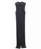 PLEATS PLEASE(プリーツ プリーズ)の古着「プリーツオールインワン」|ブラック