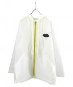 LABRAT(ラブラット)の古着「ビニールパーカー」 ホワイト