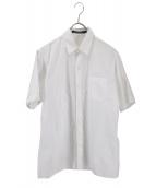 SOFIE DHOORE(ソフィードール)の古着「半袖シャツ」|ホワイト