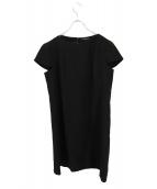 UNITED ARROWS(ユナイテッドアローズ)の古着「ブラウスワンピース」|ブラック