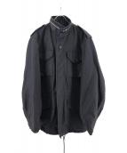 ALPHA(アルファ)の古着「M-65フィールドコート」 ブラック