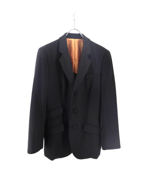 Jean Paul Gaultier FEMME(ジャンポールゴルチェ フェム)Jean Paul GAULTIER FEMME (ジャンポールゴルチエフェム) テーラードジャケット ブラック サイズ:40の古着・服飾アイテム
