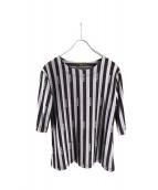 FENDI(フェンディ)の古着「ロゴTシャツ」|グレー