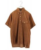 Engineered Garments(エンジニアードガーメンツ)の古着「コーデュロイシャツ」|ブラウン