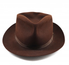 JAMES LOCK & Co. Hatters(ジェームスロックアンドコー)の古着「ハット」|ブラウン