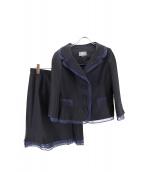 49AV junko shimada(ジュンコ シマダ)の古着「デザインセットアッフ」|ネイビー