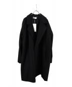 Luis(ルイス)の古着「オーバーチェスターコート」|ブラック