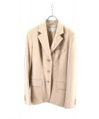 MaxMara(マックスマーラ)の古着「テーラードジャケット」|ベージュ