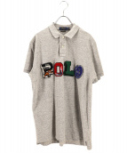 POLO RALPH LAUREN(ポロラルフローレン)の古着「ポロシャツ」|グレー