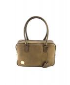 A.D.M.J.(エーディーエムジェー)の古着「ハンドバッグ」|ゴールド