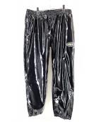 LABRAT(ラブラット)の古着「エナメルパンツ」|ブラック