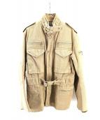 CDG JUNYA WATANABE MAN(コムデギャルソンジュンヤワタナベマン)の古着「ワークジャケット」|ベージュ