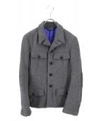 COMME des GARCONS(コムデギャルソン)の古着「ウールジャケット」|グレー