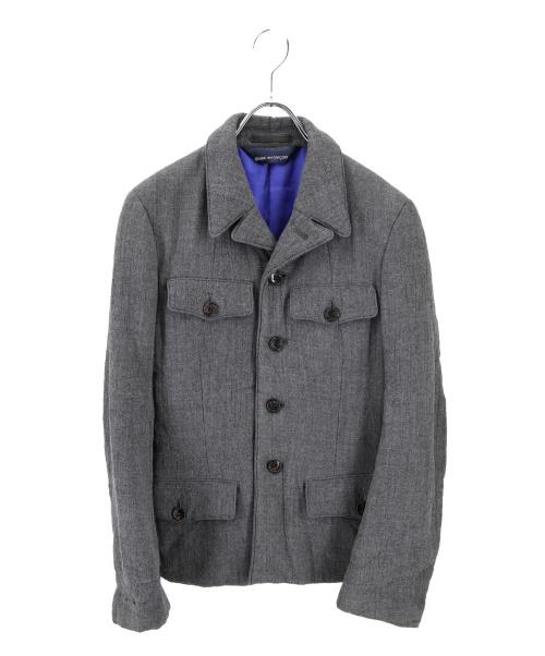 COMME des GARCONS(コムデギャルソン)COMME des GARCONS (コムデギャルソン) ウールジャケット グレー サイズ:-の古着・服飾アイテム