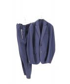 KNOT(ノット)の古着「シアサッカーセットアップ」 ネイビー