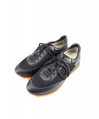 181 UNO OTTO UNO(ウノ オット ウノ)の古着「ローカットスニーカー」|ブラック
