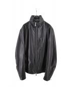 AZ by JUN HASHIMOTO(エーゼイジュンハシモト)の古着「ホースレザージャケット」|ブラック