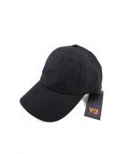 Y-3(ワイスリー)の古着「DAD CAP」|ブラック