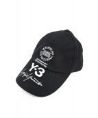 Y-3(ワイスリー)の古着「STREET CAP」|ブラック