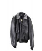 Schott(ショット)の古着「G-1フライトレザージャケット」|ブラック