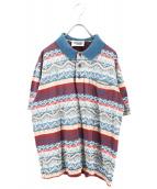 MISSONI SPORTS(ミッソーニスポーツ)の古着「ポロシャツ」 ブルー