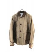 CDG JUNYA WATANABE MAN(コムデギャルソンジュンヤワタナベマン)の古着「ワックスコットンハンティングジャケット」|カーキ